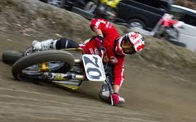 japanese flat track rider masa ohmori 70 motorcycle limbo