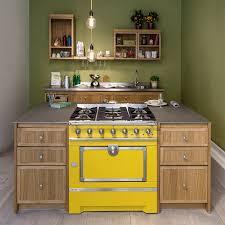 Kitchens Idea Mini Island Idea For Small Urban Kitchens By La Cornue