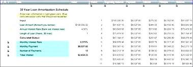 Amortization Schedule Formula Excel Lease Amortization Schedule Excel Amortization Schedule In Excel