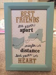 Long Distance Friendship Quotes Stunning 48 Great DIY Gifts For Best Friends 48 Special Gift Pinterest
