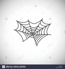 Tarantula Web Design Spider Related Icon On Background For Graphic And Web Design