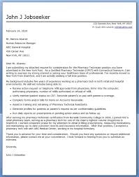 sample medical lab technician cover letter ...