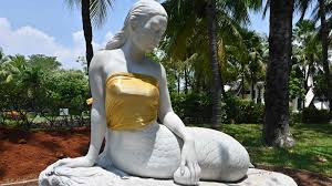 indonesia theme park censors mermaid