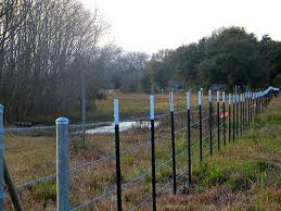 Sharp New Barbed Wire Fencing Should Keep Troublesome Post Oak Manor