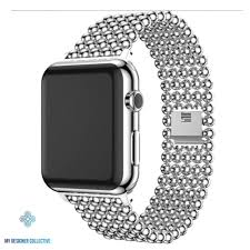 Designer Apple 4 Watch Bands Portobello Stainless Steel Watch Band For Apple Watch