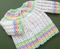 Crochet Baby Sweater Pattern Mesmerizing Crochet Baby Sweaters Free Patterns In Time For Spring This