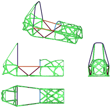 Fsae Chassis Design Report Chassis And Impact Attenuator Design From Leeds Altair
