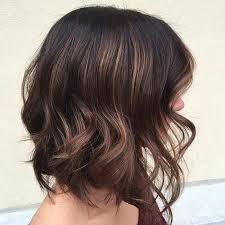 lob haircut with layers for brunettes