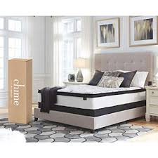 bed in a box mattress. Ashley Furniture Signature Design - 12 Inch Chime Express Hybrid  Innerspring Mattress Bed In A Bed Box Mattress A