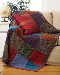 Checkered Knit Blanket | FaveCrafts.com &  Adamdwight.com