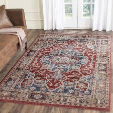 direct rugs 5x7 alexander home jullian beige rug 5 3 x 7 wine