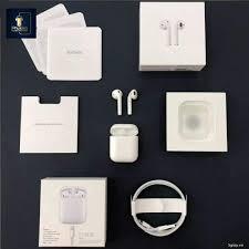 Airpods 2] Tai Nghe Bluetooth Apple AirPods 2 rep 1:1 Định vị, Đổi tên, SẠc  Không Dây ,Cảm Ứng Đa Điểm