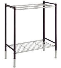 floor towel stand. Floor Towel Rack In Free Standing Racks Stand
