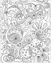 Small Picture Free Printable Abstract Coloring Pages for Adults