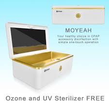 MOYEAH <b>CPAP</b> Cleaner <b>Sanitizer</b>|<b>Cpap</b> Disinfector Supplies <b>Ozone</b> ...