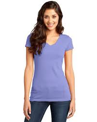 District Dt6501 Juniors Very Important V Neck Tee Size Chart