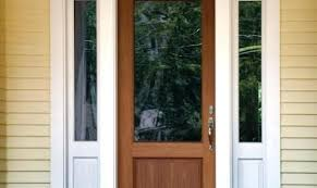 wood storm doors with glass panels theheartofcom