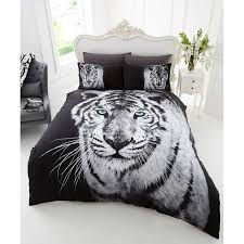 duvet covers 33 bright design double duvet covers photographic animal set white tiger bedding bed 309147