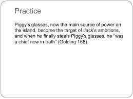 using quotes in an essay 10 practice piggy s glasses