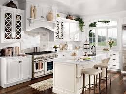 All White Kitchen Designs Decor Awesome Decorating