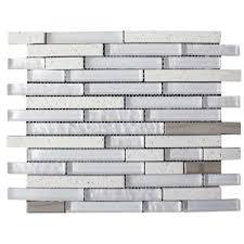 quartz 30x30cm white bathroom kitchen mosaic tile