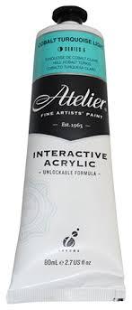 Atelier Acrylic Colour Chart Atelier Interactive Atelier Acrylic