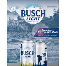 Busch Light Limited Edition Cans Busch Light Beer 30 Pack 12 Fl Oz Cans Walmart Com