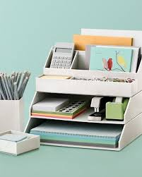 stackable desk accessories creatively organized home office boosts your mood and make you more ive