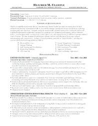 Cover Letter For Government Position Federal Resume Sample For