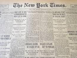 1927 SEPTEMBER 14 New York Times - Tidal Waves Hit Japan And Mexico - Nt  6383 - $52.50   PicClick