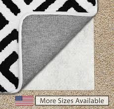 details about the original gorilla grip tm non slip area rug pad for carpet usa made 2 x 3
