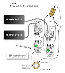 vintage gibson wiring two p90 free download wiring diagram schematic gibson es-335 wiring schematic at Gibson Wiring Schematic