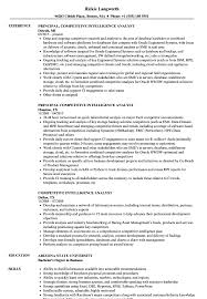 Competitive Analyst Sample Resume Competitive Intelligence Analyst Resume Samples Velvet Jobs 1
