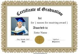 Certificate Border Template Free Extraordinary Free Graduation Certificate Templates Customize Online