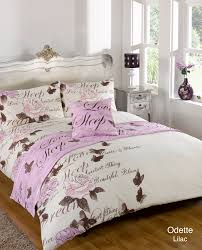 duvet cover with pillow case quilt bedding set bed in a bag double king all size