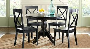 black dining table with leaf cool black round dining table 8 architecture black round dining table