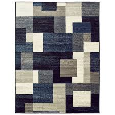 taira block blue gray area rug