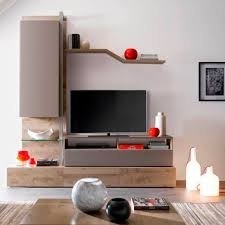 gautier furniture prices. Contemporary TV Wall Unit / Oak Frosted Glass Melamine - ADULIS : LAYOUT C Gautier Furniture Prices ,