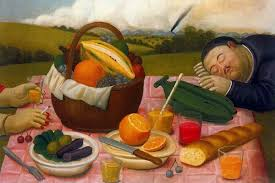 the piece by one of the most famous colombian artists fernando botero is on view in
