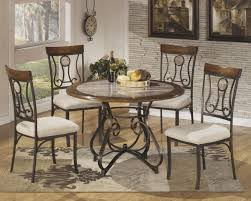 office impressive round dinette sets 14 ashley furniture dining room discontinued tables kitchen with casters breakfast