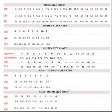 Converse Size Chart Vans Vs Converse Size Chart Www Bedowntowndaytona Com