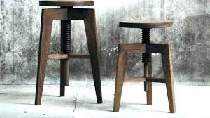 bar stool bench. Bar Stool Bench The Dining Room Intended For Double Kitchen . E