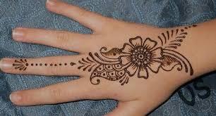 Inai dipakaikan pada kuku sahaja dan corak floral separa dilukis pada jari jemari dan tangan serta diikuti dengan floral penuh pada pergelangan tangan. Henna Tattoo Designs Easy Corak Inai Simple Novocom Top