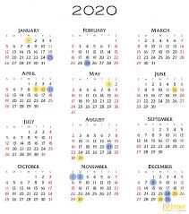 list official 2020 holidays in ph