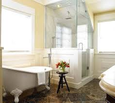 clawfoot tub bathroom ideas. With Clawfoot Tubs Bathroom Corner Stalls For Ideas Small Bathrooms Design Decorating Tub Rustic Barn Frosted Doors Neo Angle Enclosed Stall Enclosures