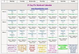 21 Day Fix Tracking Sheet - Doki.okimarket.co