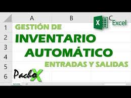 Inventario Excel Gestion De Inventario Automatico De Entradas Y Salidas Aumentar Y Descontar Stock