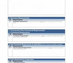 Business Requirement Example Process Requirements Gathering Checklist Word Template Example Excel