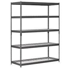 basement storage shelves. Edsal Heavy Duty Steel Shelving In Black Inches Basement Storage Shelves