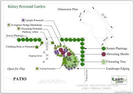 Small Picture Great Free Kidney Shaped Perennial Garden Design Design by